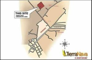 Tierra Nava location map