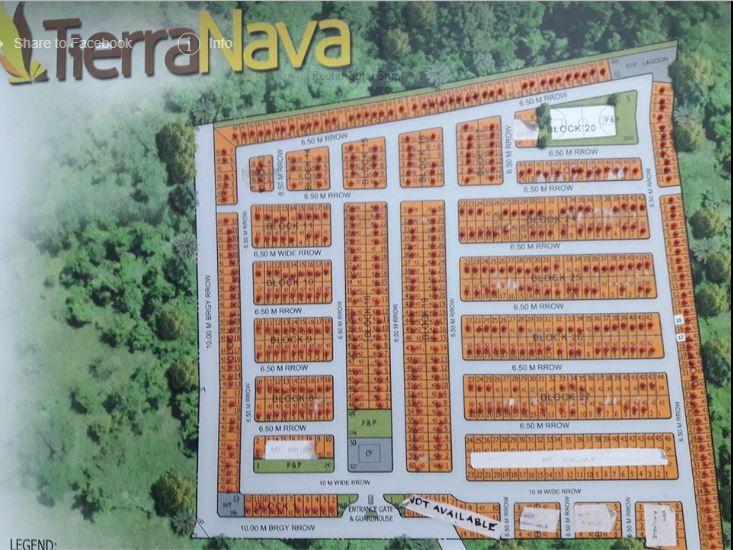 Tierra Nava map march 2018