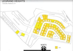 Le Grand Heights lot only map sept. 2017