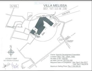 Villa Melisa vicinity map