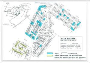 Villa Melissa map Feb. 2018