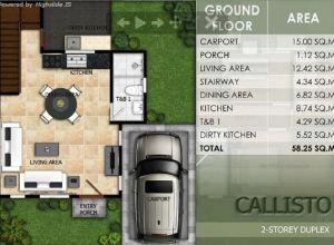 Modena LIloan Callisto floor plan 1