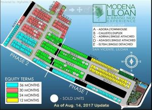 Modena Liloan map Aug.