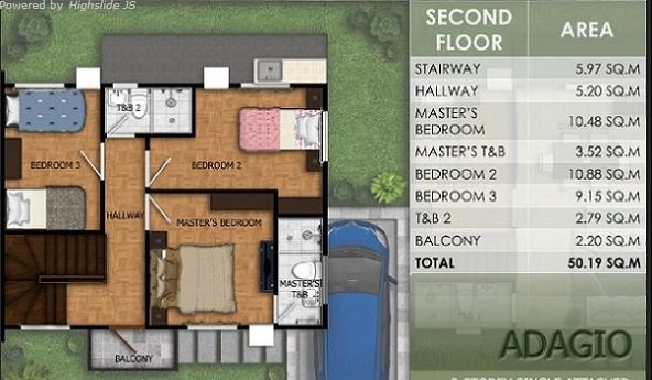 Modena Town Square Adagio Floor Plan 2 Cebu Sweet Homes