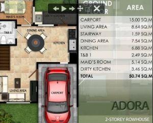Modena Town Square Adora floor plan 1