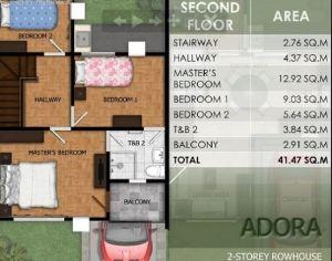 Modena Town Square Adora floor plan 2