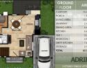 Modena Town Square Adrina floor plan 1