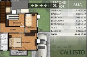 Modena Town Square Callsito floor plan 2