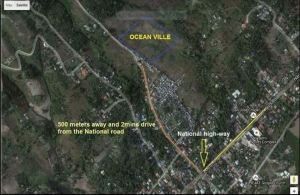 Oceanville vicinity map