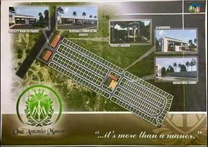 One Antonio Manor map
