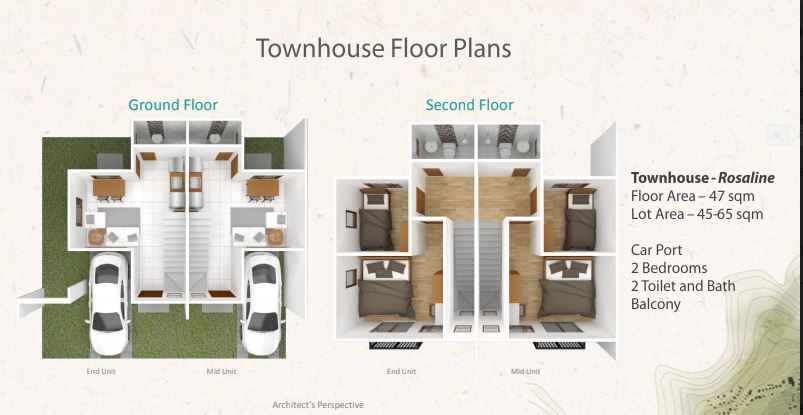 Serenis South T Rosaline Floor plan