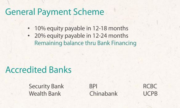 Serenis South payment scheme