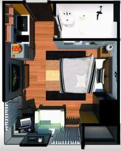 Aizen Flats Condo floor plan 1