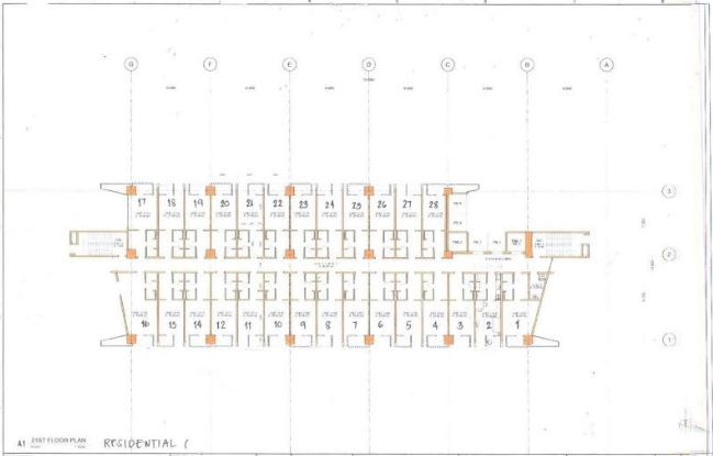 City Soho Residential flr plan