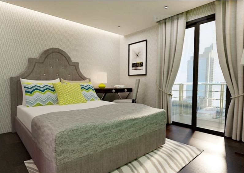 Cityscape grand tower bed