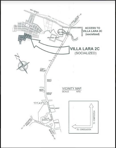 Villa Lara 2 C Vicinity map