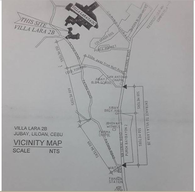 Villa Lara 2B vicinity map