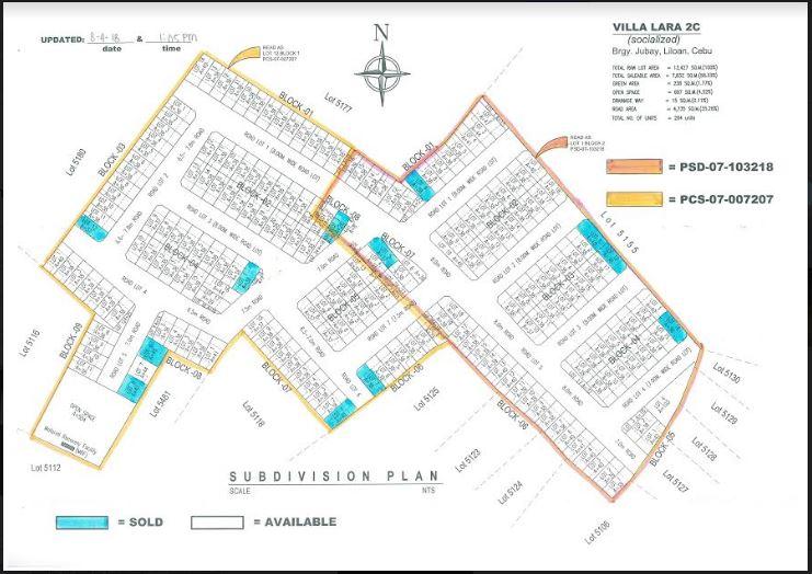 villa Lara 2 C map