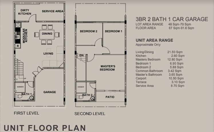 Natalia Residences floor plan new