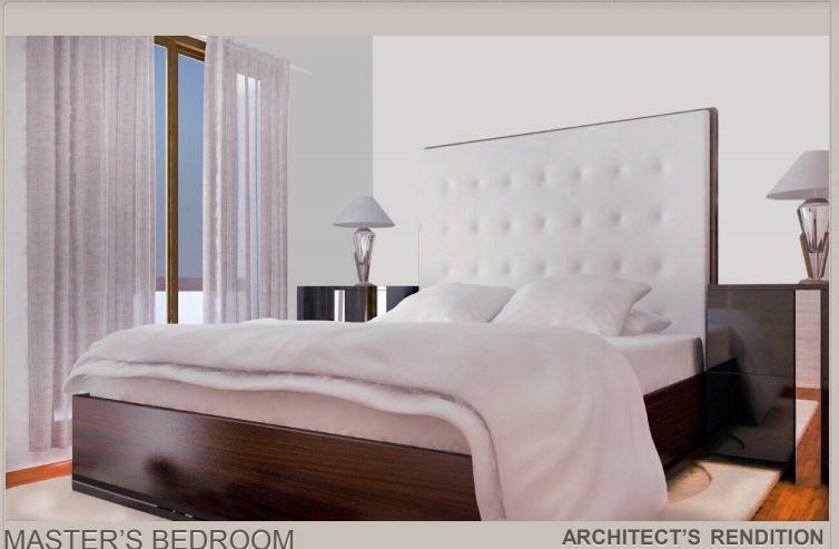 Natalia Residences masters bedroom