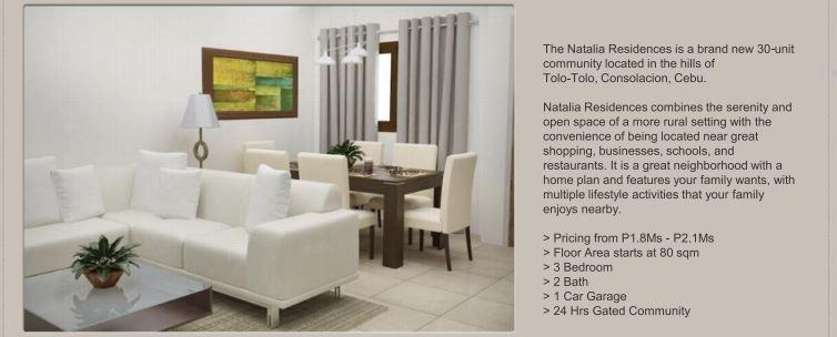 Natalia Residences pricing