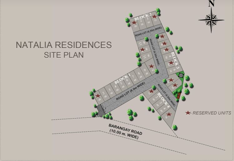Natalia Residences site map new