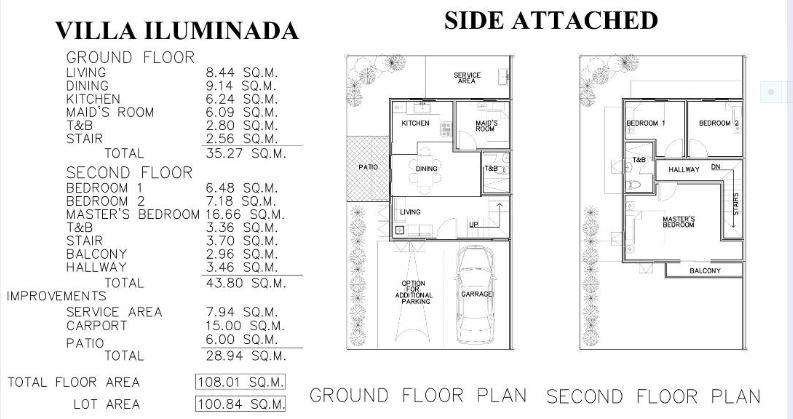 Villa Iluminada mactan floor plan 2