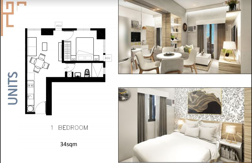 Sun Park Royal 1 bed room