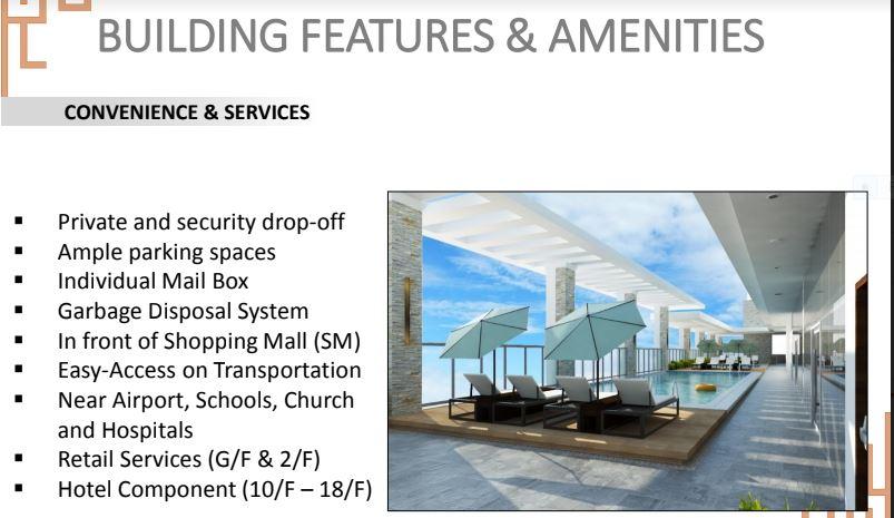 Sun Park Royal bldg. amenities