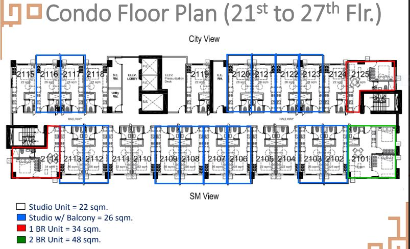 Sun Park Royal condo floor plan 2