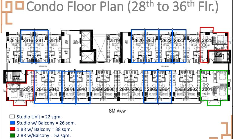 Sun Park Royal condo floor plan 3