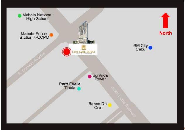Sun Park Royal location