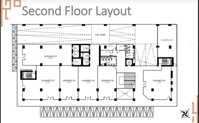 Sun Park Royal secon flr lay out