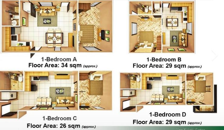 Brentwood Condo lay out plans 2