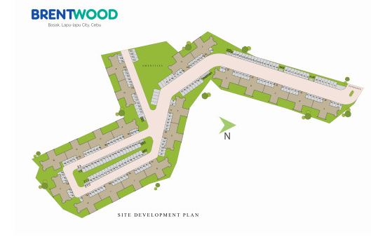 Brentwood Condo map