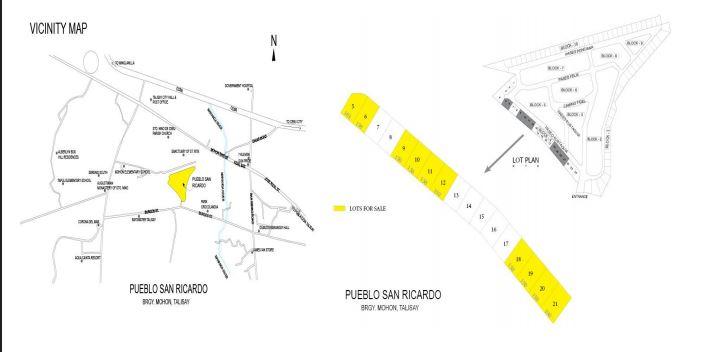Pueblo San Ricardo map Sept. 2019
