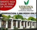 Verona Subdivision