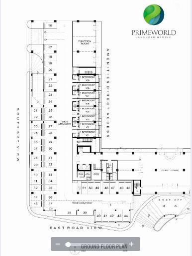 Prime World floor plan 1