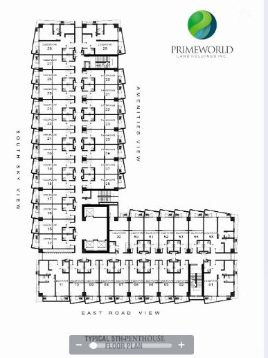 Prime World floor plan 2