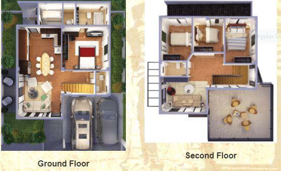 Segovia Hiraya floor plan