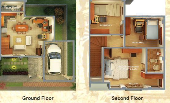 Segovia south Sinag floor plan