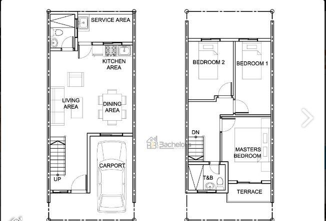 Happy Homes Liloan Tatina floor plan