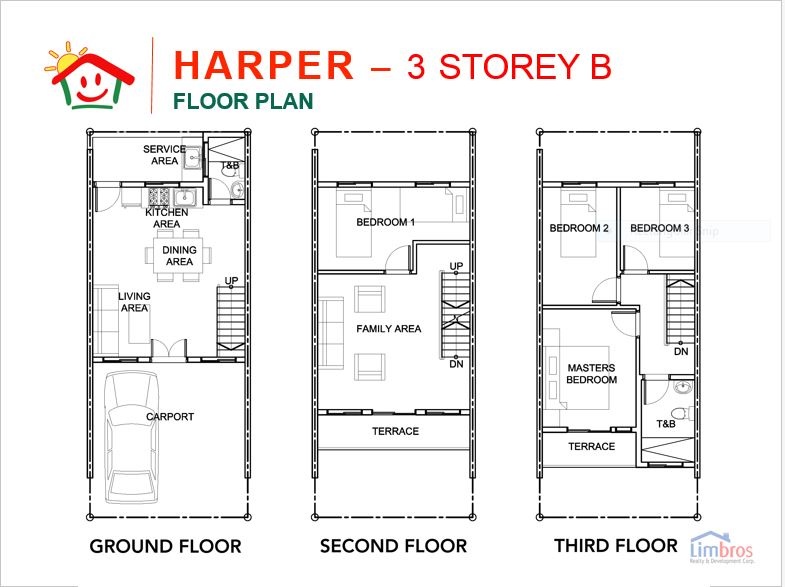 Happy Homes Liloan harper floor plan