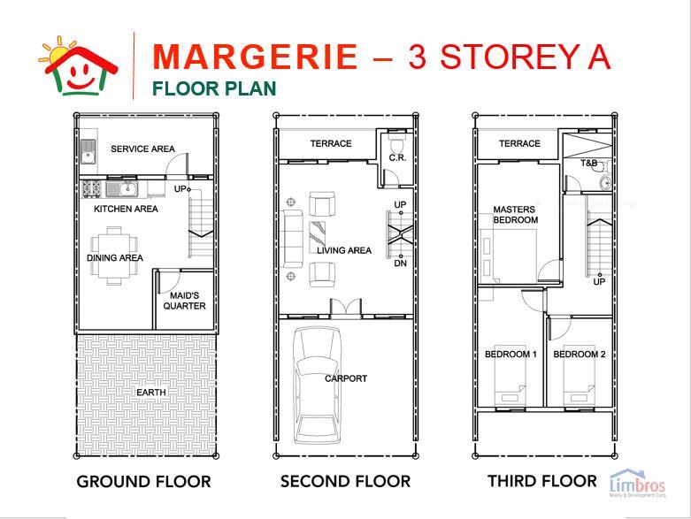 Happy Homes Liloan margerie floor plan
