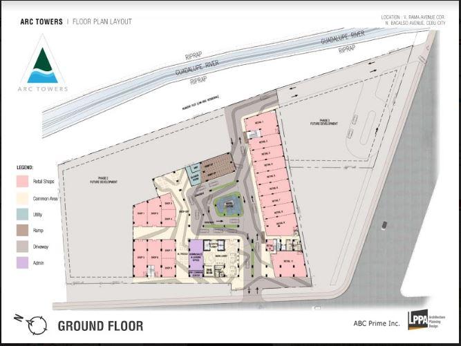 Arc Towers ground