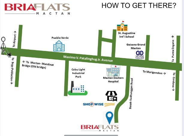 Bria Flats location