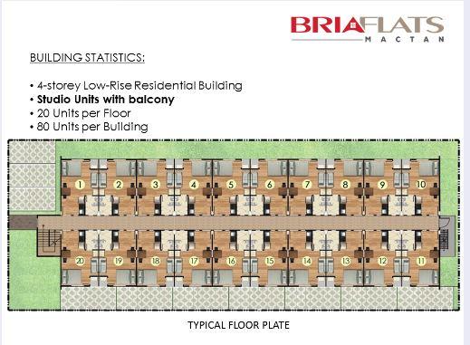 Bria flats typical floor