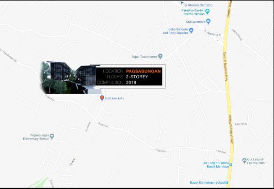 bloq Soho Loft location map