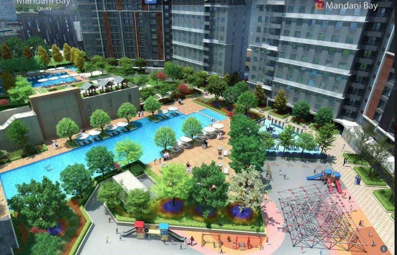 Mandani Bay Quay Tower 2 pool 1