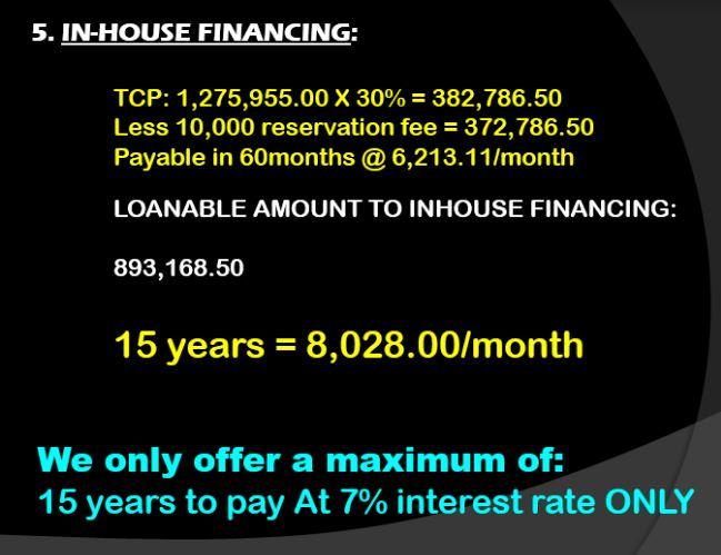 My Home Perelos Financing 1